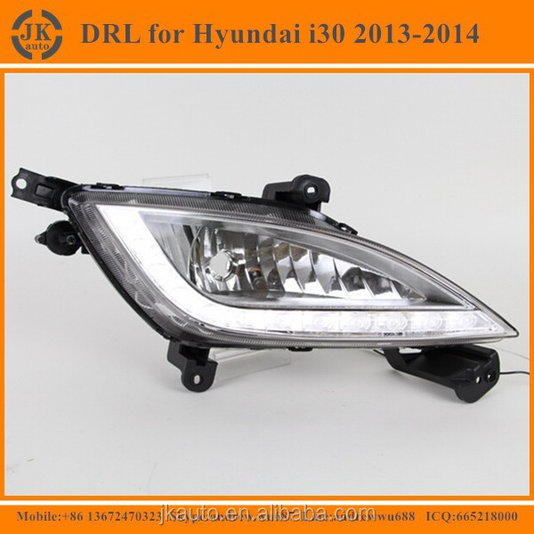 Good Price Wholesale High Power LED DRL For Hyundai i30 LED Daytime Running Light for Hyundai i30 2013-2014
