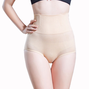 1962 Seamless shapewear plus size body shaper steel bone high waist thong panties women