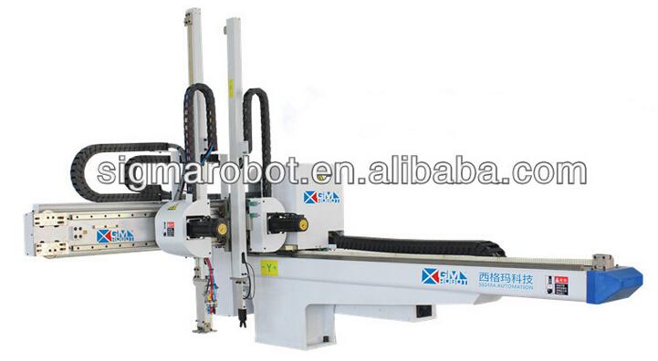 Pneumatic Manipulator Arms : Automatic manipulator industrial pneumatic xyz robot arm