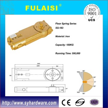 FULAISI best sale overhead spring hinge transom door closer GuangDong  sc 1 st  Alibaba & Fulaisi Best Sale Overhead Spring Hinge Transom Door Closer ... pezcame.com