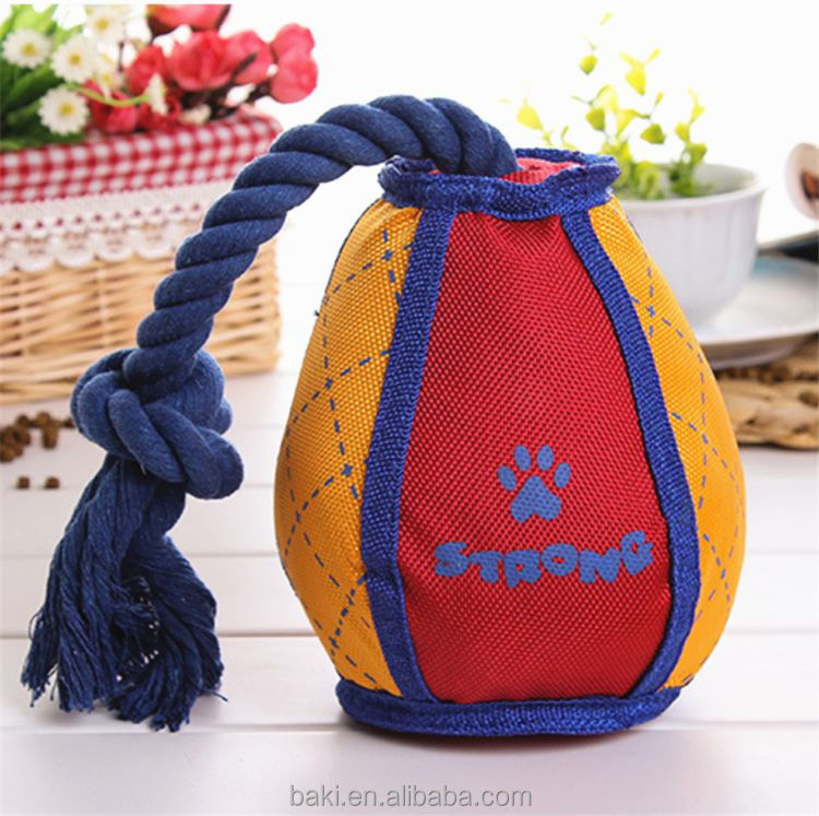 Wholesale Oxford Tennis Ball Pet Toys Pet Play Toy Dog Toy Durable