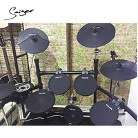 DM-5 High quality NUX digital Electronic drum set 64 voices backlit LCD display