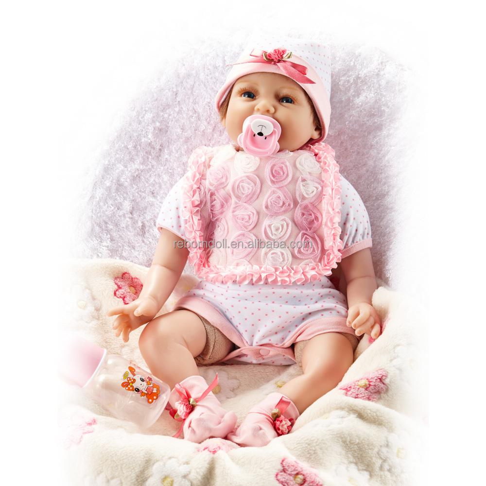 Muñeca Baby alive silicona bebé renacido muñecas sonrisa recién ...