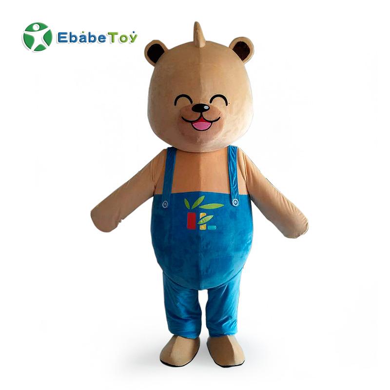 OEM/ ODM stuffed animals custom action figure mascot plush costume toy figure