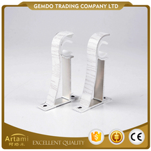 New product hot selling factory custom white curtain rod brackets