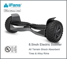2017 Newest two big wheels Self-balancing Scooter 8.5inch hoverboard 800W with UL2272 certified