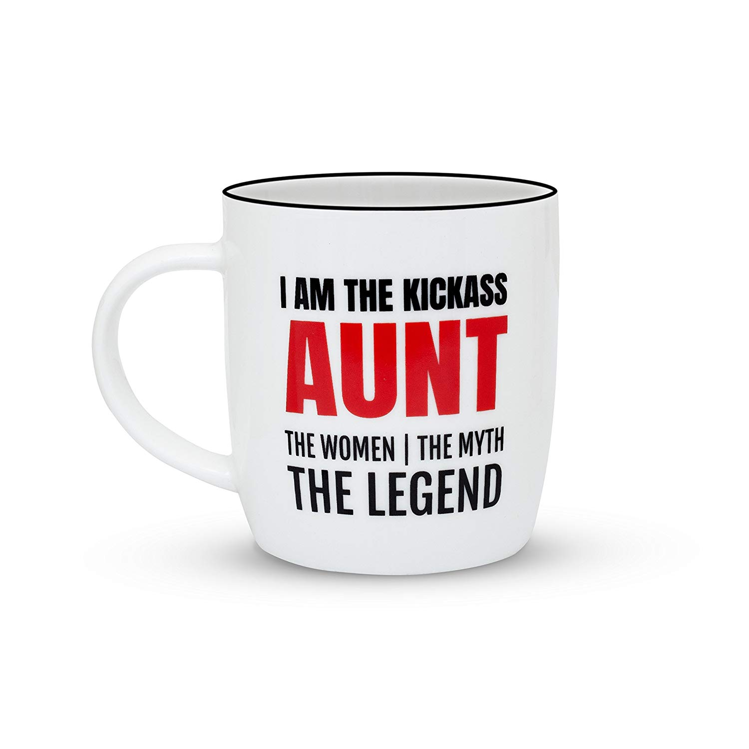 Get Quotations Gifffted Best Aunt Ever Coffee Mug The Women Myth Legend Kickass