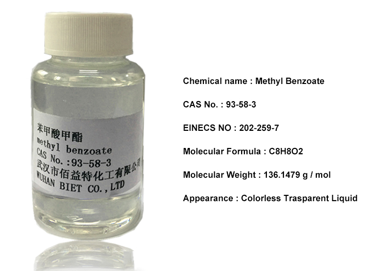 China 93-58-3 Fragrance Intermediates methyl benzoate supplier