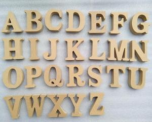 2018 new unique hot sales decorative gift craft wholesale cheap ornaments handicraft scrabble wooden alphabet letters