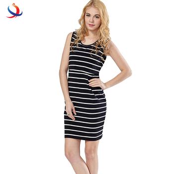c28f4a5396 100%Cotton Striped Nursing Dress For Pregnancy Women Short Summer Maternity  Dresses Clothing Breastfeeding Nursing