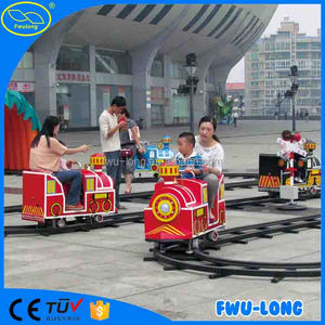 News !!The latest hot product outdoor lighted track train for sale indoor shopping mall train amusement rides