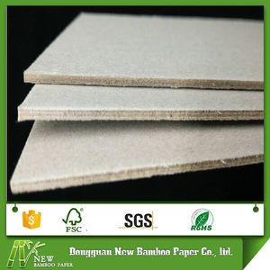 Smoothy surface grey flat paper board 2mm paper thickness gsm
