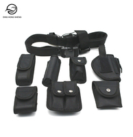 Compact Tactical Security Patrol Multi-functional Police Duty Belt With Adjustable Buckle Lock