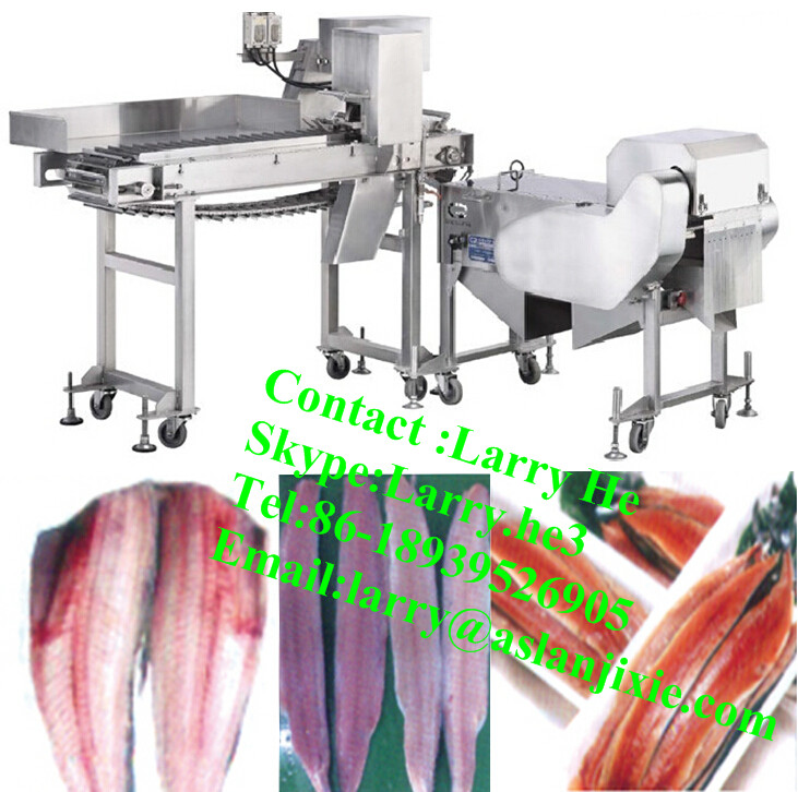 Automatic filleter fish filleting machine salmon filleting for Fish fillet machine