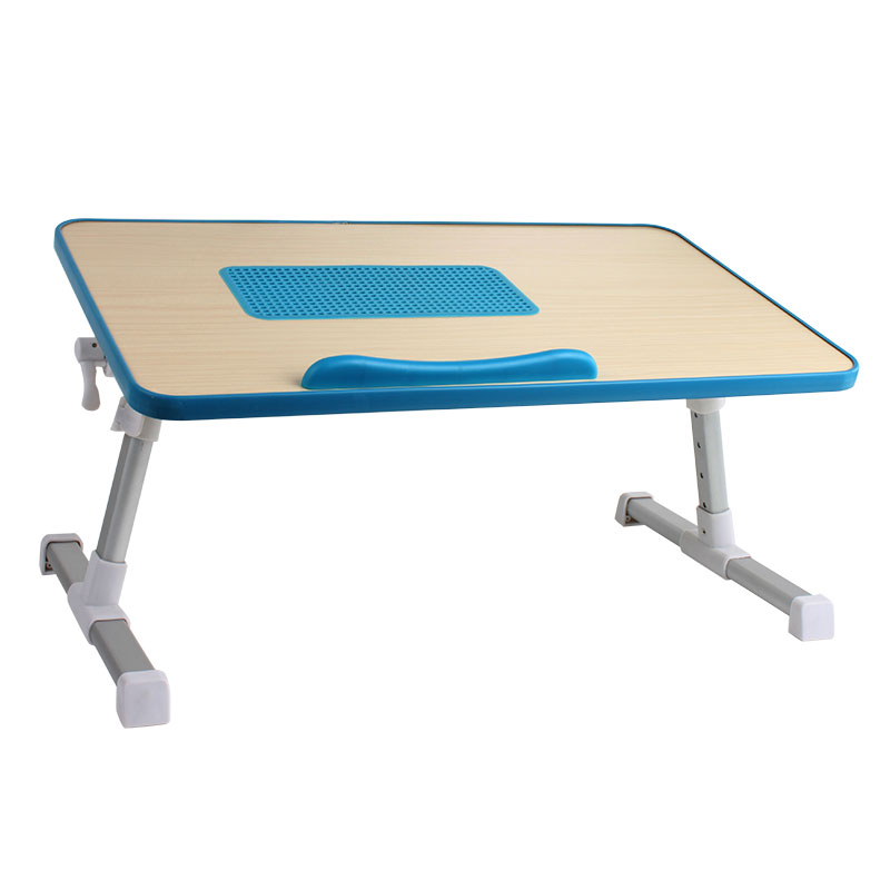 Portable multifunctional MDF laptop table in bed