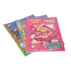 Soft cover children's easy english stories book printing