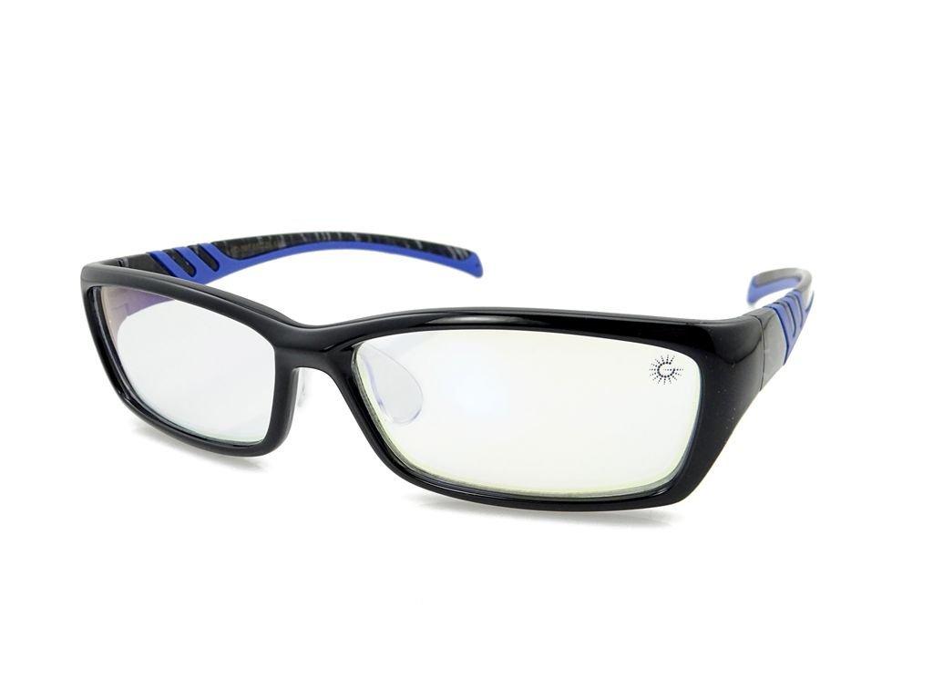 9d9f3f132a9 Get Quotations · GUoptics Full Rim Color Enhanced Advanced Computer Glasses  Video Glasses Gaming Glasses Eyewear Professional
