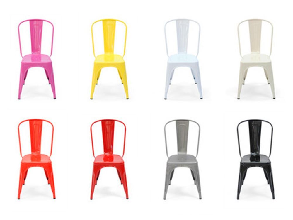 Chaises De Restaurant Colorees Chaise Vintage En Fer A Vendre