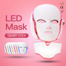 Hot sale Led Light Therapy Face Mask 7 Colors Skin Rejuvenation photon light therapy machine
