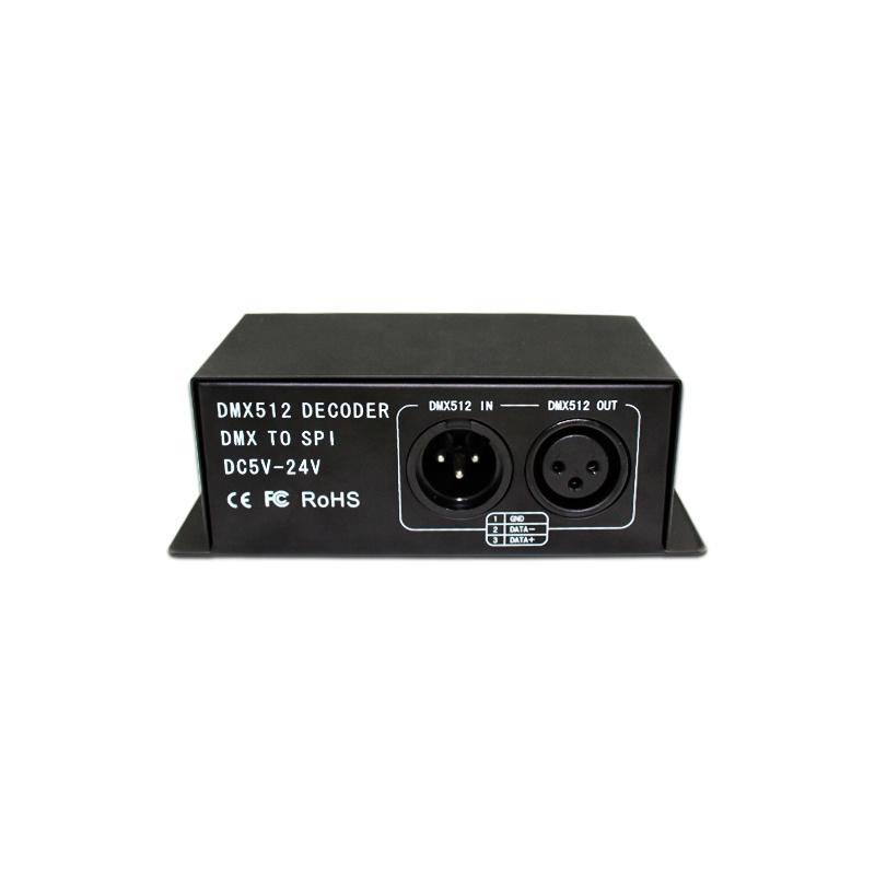 DMX512 led controller,LED DMX512 decoder for rgb full color led strip