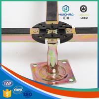 HC/Z Pro-environment aluminum honeycomb access floor support adjustable plastic pedestal for raised access flooring