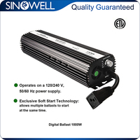 China Honest Manufacturer SINOWELL 400w 600w 1000w Electronic Ballast for High Pressure Sodium Lamp