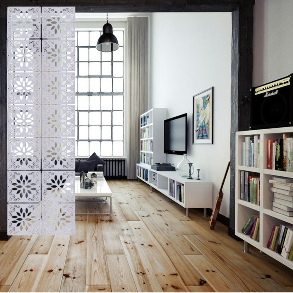 Attrayant Kernorv DIY Room Divider Partitions Separator Hanging Decorative Panel  Screens, 12 PCS Hanging Room Divider