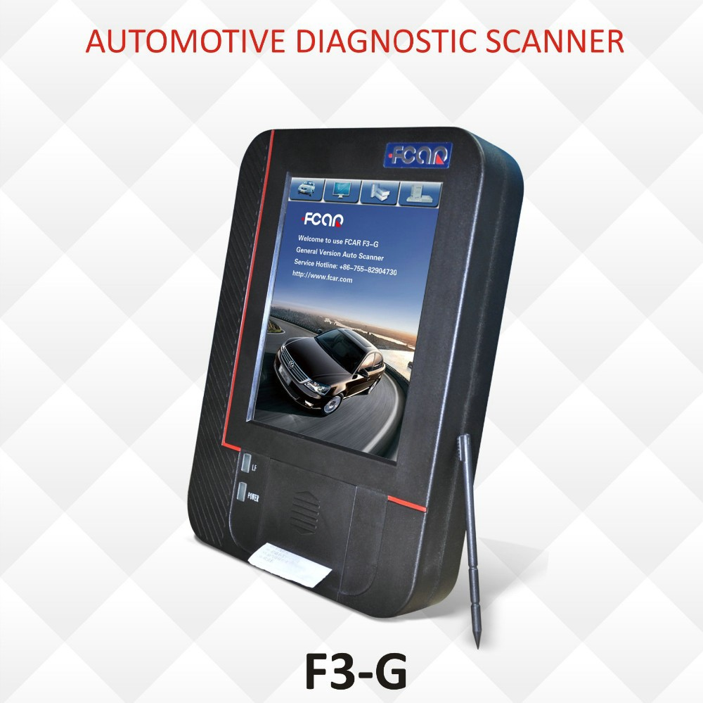 F3 G scan tool, for Mercedes trucks cars diagnostic scanner