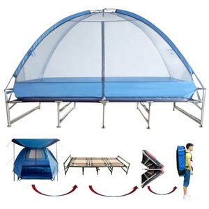 Trending Products Easy Folded Bed Tent Camping Tent Cot make in china