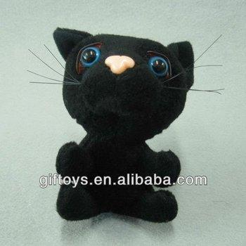 Piccolo Gatto Farcitopeluche Giocattoli Del Gatto Nero Per I
