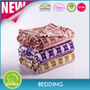 BSCI SEDEX Audited Factory Free Sample Hand Knit Baby Blankets Electric Heater Blanket Warm Blanket