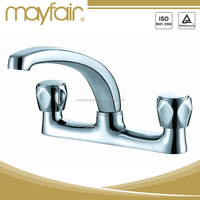 High Flow High Water tap dual handles China kitchen sink faucet