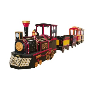 Trackless train manufacturer amusement trackless train ride for shopping mall