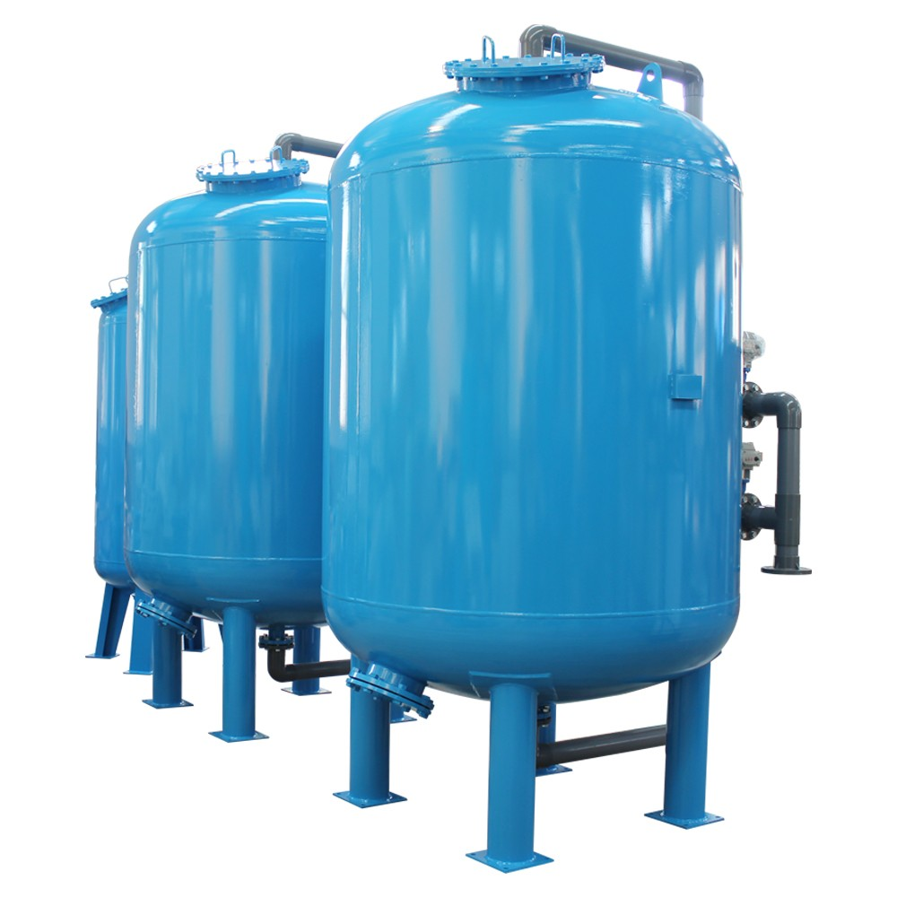 10T/H Multi Media Industrial Sand Filter For Water Treatment