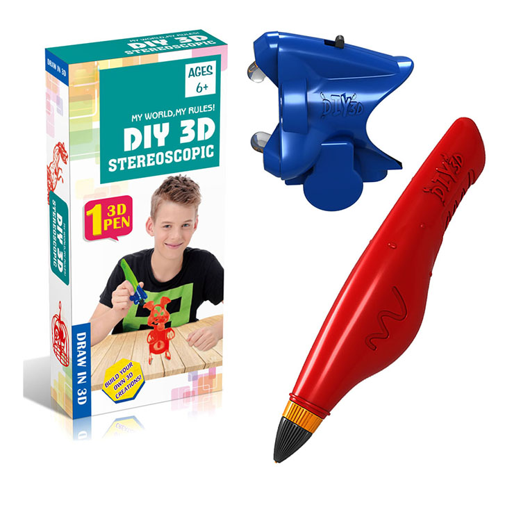 Funny diy stereoscopic drawing 3d printer pen toy for <strong>kids</strong> OT3525333-5