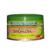 High quality skinless and boneless canned salmon with salt water