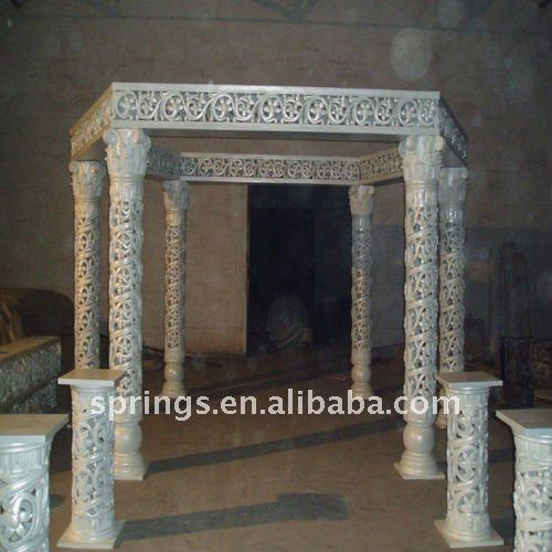 Elegant Lighted Decoration Wedding Columns And Pillars
