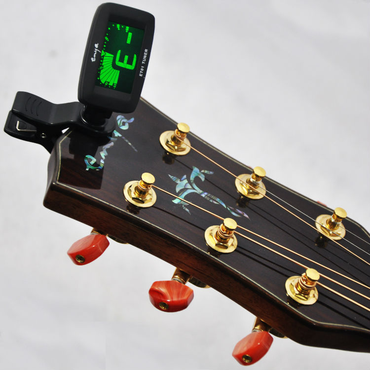 handmade musical instruments painting tuner ET-01