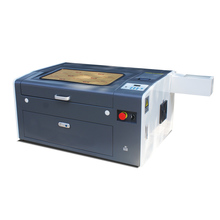 Hot sale&High quality new co2 mini laser cutter laser engraver for rubber stamps 30*50cm with red dot