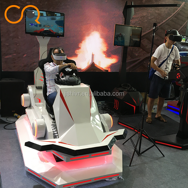 Good Price Amusement Park Game Center Design 9D VR Cinema Equipment Racing Simulator