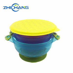 Eco-Friendly Silicon Suction Baby Bowl