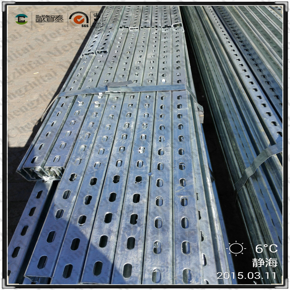 strut galvanized slotted channel brackets