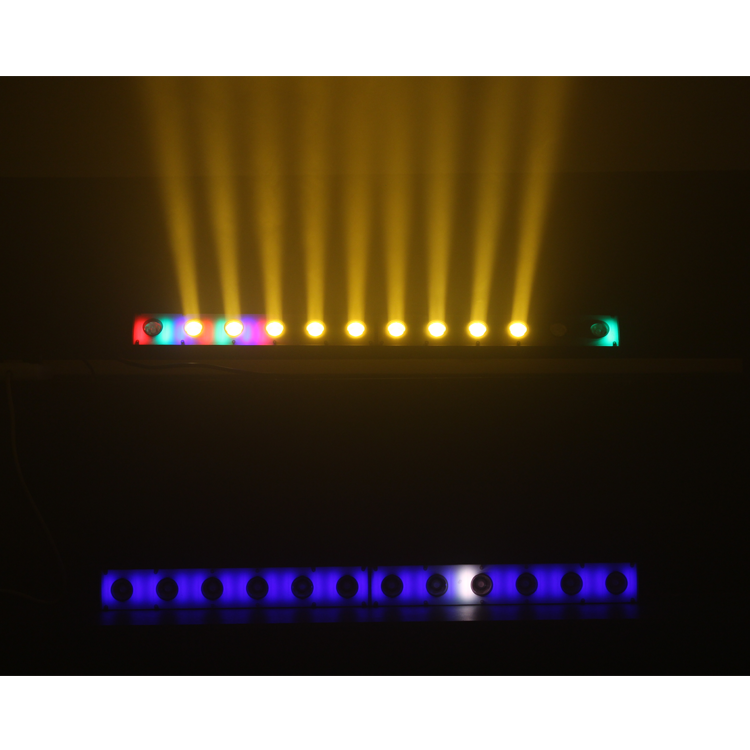 New Stage light 12*3W amber white RGB 3IN1 SMD5050 2IN1 led beam wash Pixel led light bar