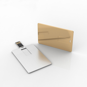 Creative ultra slim stainless steel card usb memory 1 gb 4 gb 16gb 32gb 256gb metal usb3.0 flash drive