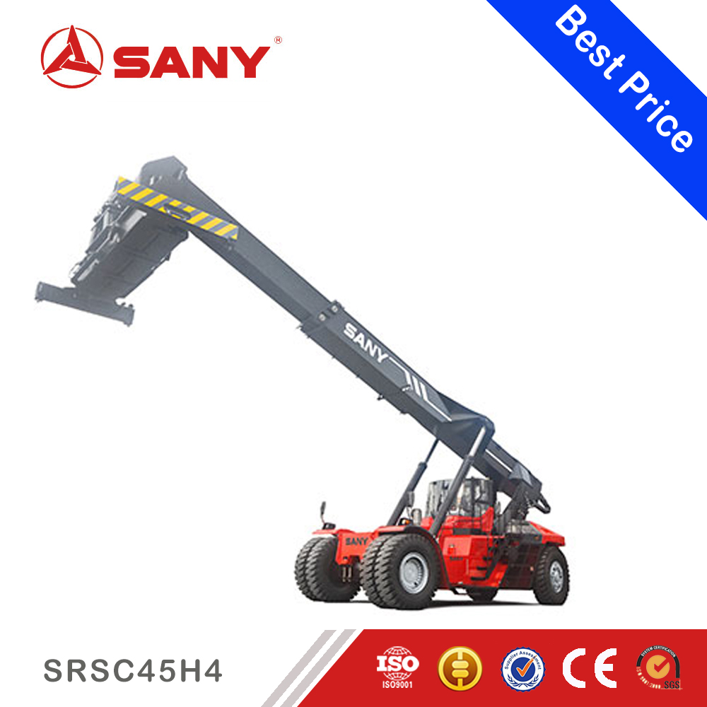 SANY SRSC45H4 45 ton ergonomic designed cab reach stacker for containers