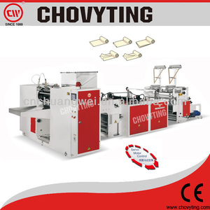 CW-1000PR+C2 Garbage Bag On Roll Making Machine/T-shirt Bag On Roll Making Machine/Clear Plastic Bag On Roll Making Machine