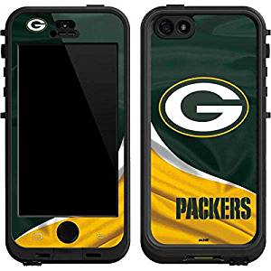 NFL Green Bay Packers Lifeproof Nuud iPhone 5&5s Skin - Green Bay Packers Vinyl Decal Skin For Your Lifeproof Nuud iPhone 5&5s