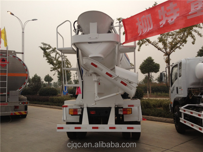 foton 4cbm mini concrete truck mixer made in china