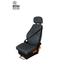 Best selling sdjustment auto seat met drie punt safty-riem truck driverseat, bus driverseat