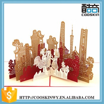 Famous Buildings Customize Birthday Greeting Cards Thanks Card Buy